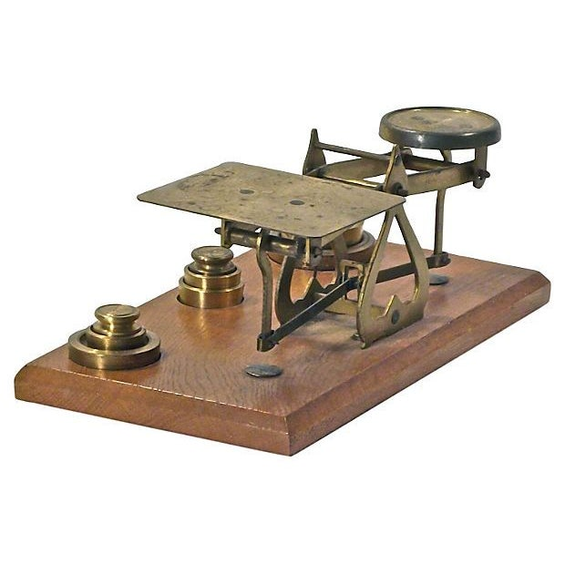 Image of Antique Brass Scale