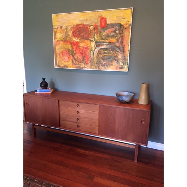Walter Hook Mid-Century Abstract Painting - Image 5 of 7