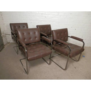 Tufted Mid-century Chairs by Patrician - Set of 4