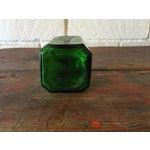 Image of Green Depression Glass Pepper Shaker