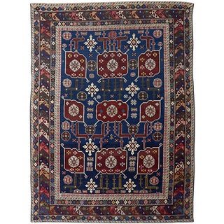 An Antique Karagashli Rug