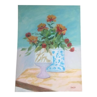 'Still Life With Poppies' Painting