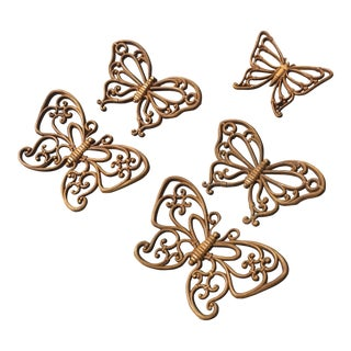 Homco Butterflies - Set of 5