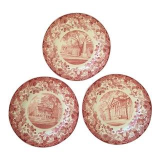 Wedgwood Harvard Plates- Set of 12