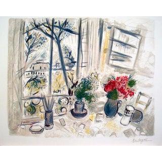 1988 Fleurs Du Parc Poster by Marc Chagall