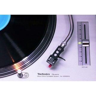Classic Technics Turntable Photograph