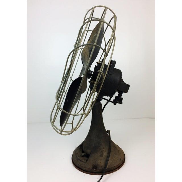 Antique Emerson Electric Oscillating Fan Chairish