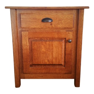Amish Handcrafted Mission Style Nightstand