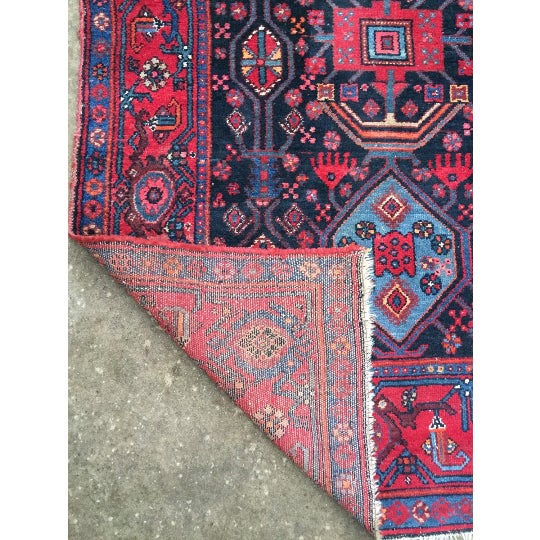 "Semi-Antique Persian Rug - 4'6"" x 7'5"" - Image 5 of 6"