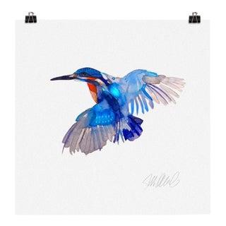 Premium giclee print of kingfisher