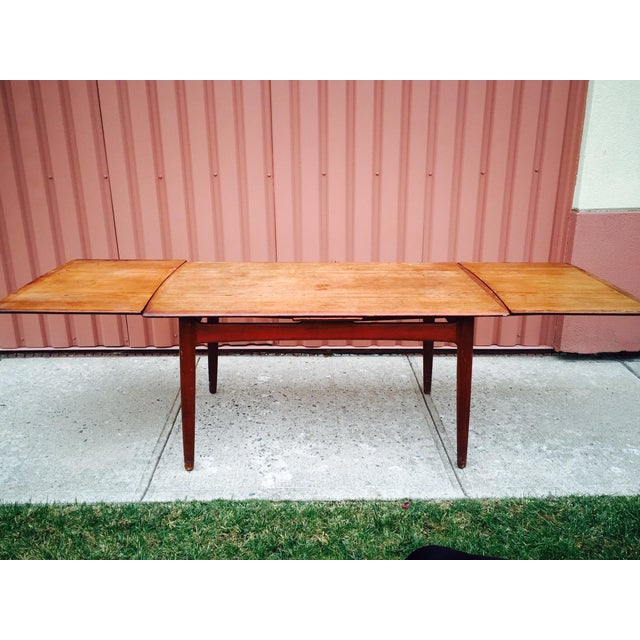 Danish Modern Dining Table by Svend Madsen - Image 2 of 7