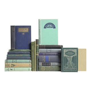 Moss & Cornflower British Classic Books - Set of 20