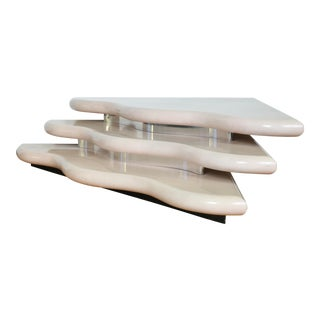 Waterfall Lacquered Coffee Table