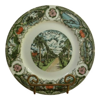 Florida Collectible Decorative Plate