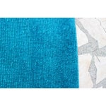 Image of Oushak Over-Dyed Turquoise Runner - 2′5″ × 13′4″