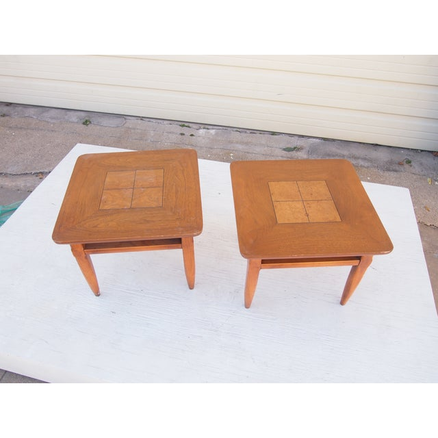 Image of Parquet Lane Side Tables- A Pair