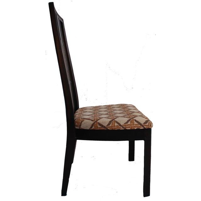 John Widdicomb Burl Walnut Dining Chairs - S/6 - Image 3 of 10