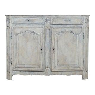 Louis XVI Period Painted Oak Antique French Buffet circa 1780