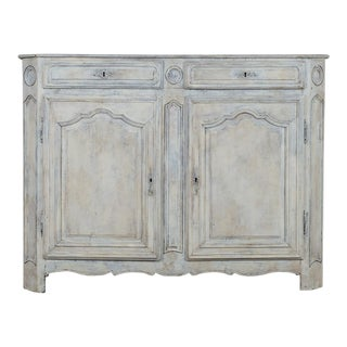 Louis XVI Period Painted Oak Antique French Buffet circa 1780