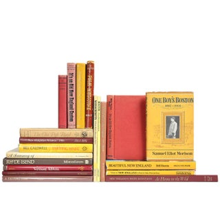 New England Book Collection - Set of 20