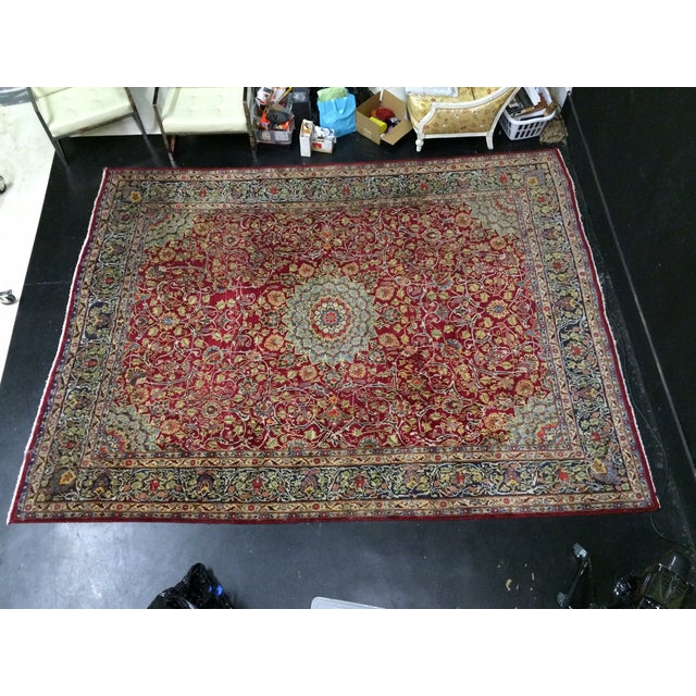 Large Traditional Persian Rug - 12′4″ × 9′6″ - Image 2 of 11