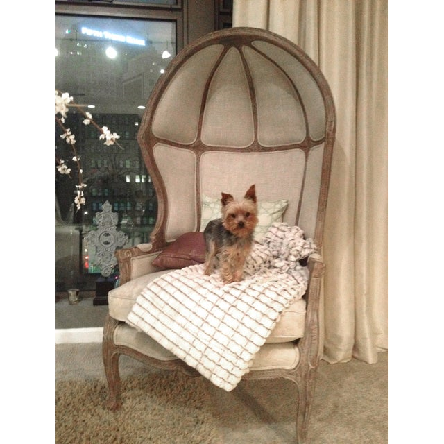 Restoration Hardware Versailles Dome Chair - Image 3 of 10