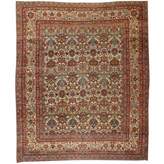 Antique Persian Lavar Carpet