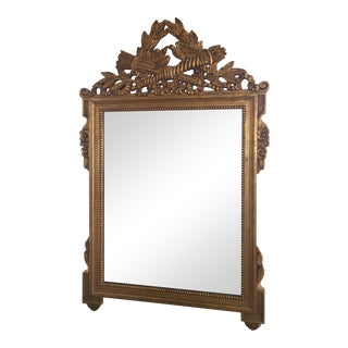 Gold Gilt Mirror in the Manner of La Barge