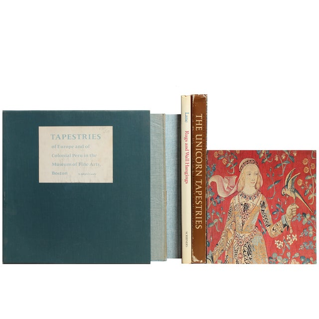 Tapestries Mini Library - S/5 - Image 1 of 2