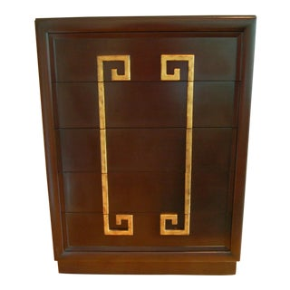 Kittinger Tall Chest in Chocolate Brown