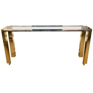 Romeo Rega Early 1970s Console Table