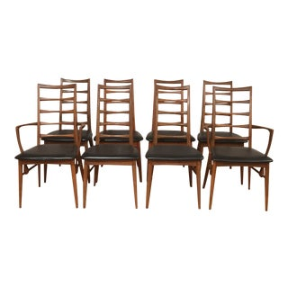 Danish Modern Koefords Hornslet Dining Chairs- Set of 8