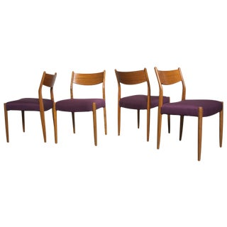 Cees Braakman Teak Dining Chairs - Set of 4