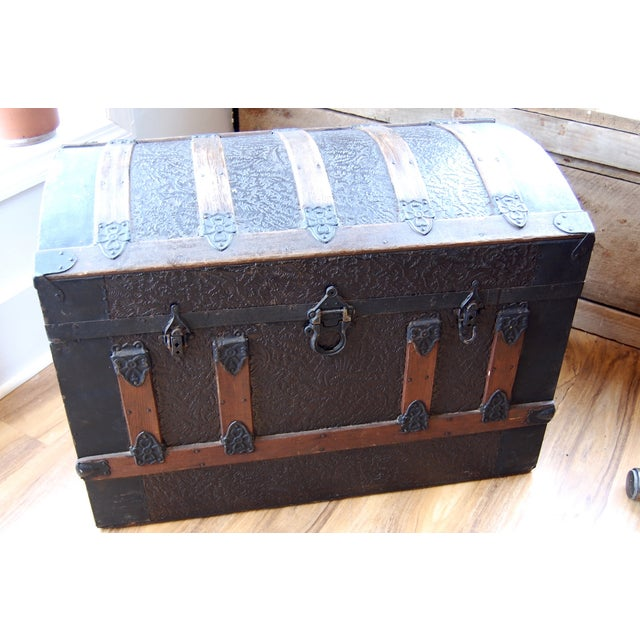 Antique 1800's Trunk - Image 2 of 7