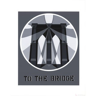 Robert Indiana, To the Bridge (Brooklyn Bridge), 1997 Serigraph
