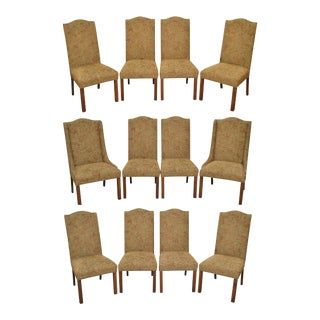 Impressive Furniture Design Custom Upholstered Formal Dining Chairs - Set of 12