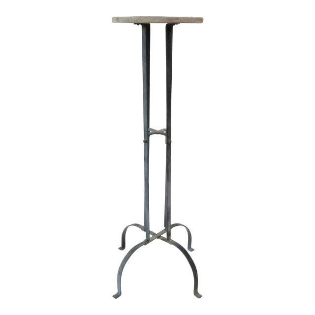Vintage Wood & Metal Plant Stand - Image 1 of 6