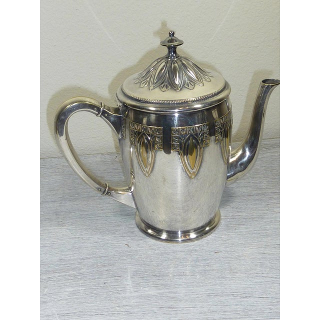 1900s Art Nouveau WMF Coffee/Tea Set - Image 6 of 11