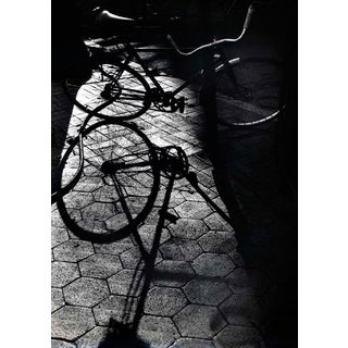 """East Village Bike in the Shadows"" Photograph"