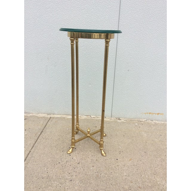 Image of La Barge Italian Brass Pedestal
