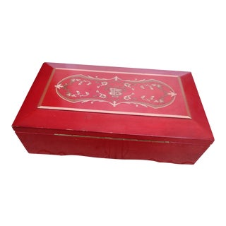 Princess Marcella Borghese Music Trinket Box
