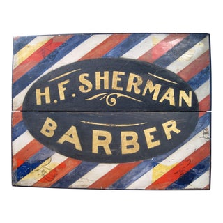 Barber Trade Sign