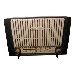 1940s Vintage Granco Bakelite Radio