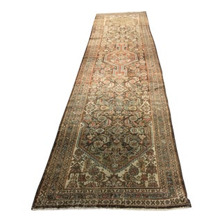 "Vintage Turkish Oushak Runner - 2'9""x8'8"""