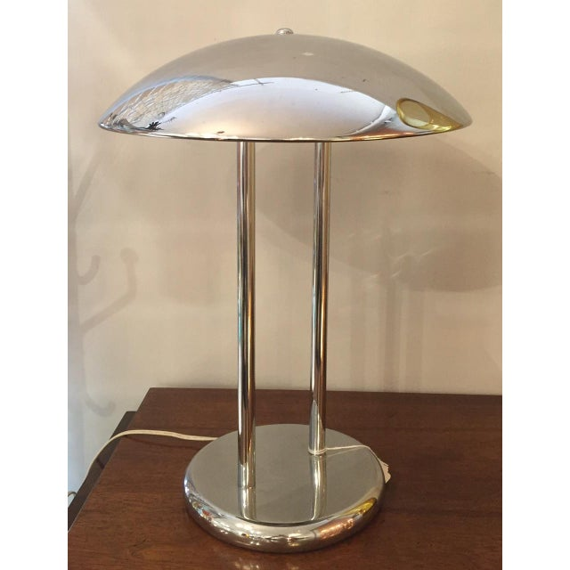 Vintage Chrome Table Lamp - Image 2 of 3