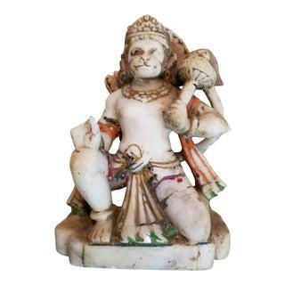 Marble 19th Century Hindu Deity Figure