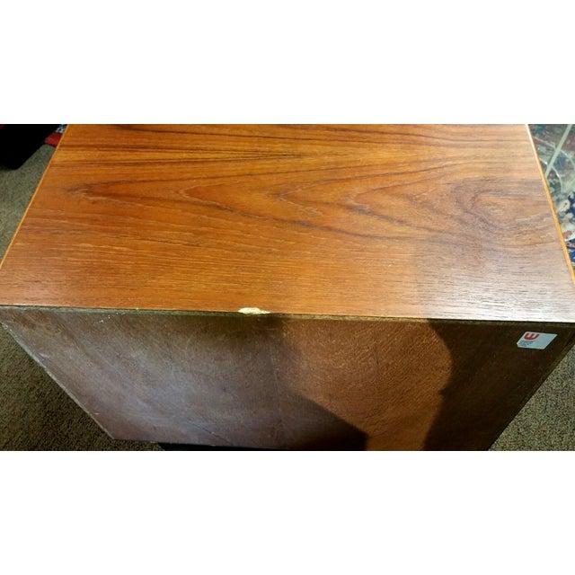 Image of Vintage Danish Teak Side Table by Westnofa