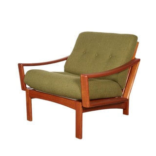 Mid Century Teak Club Chair