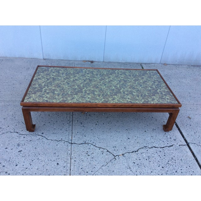 1960's James Mont Style Large Coffee Table - Image 4 of 11