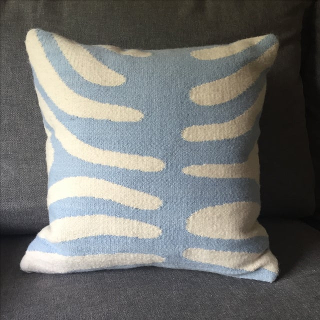 Jonathan Adler Pop Zebra Wool Throw Pillow - Image 2 of 5